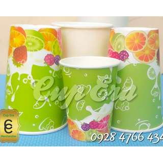 Generic Print Paper Cups and Paper Bowls