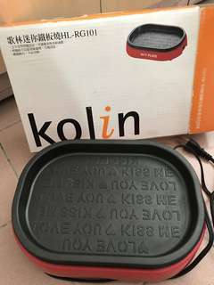 歌林迷你鐵板燒/Kolin Mini Hot Plate HL-RG101