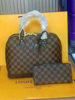 LV Bag bundle with Wallet