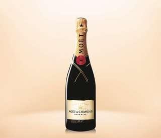 全新 法國 Moët & Chandon 酩悅香檳 750ml