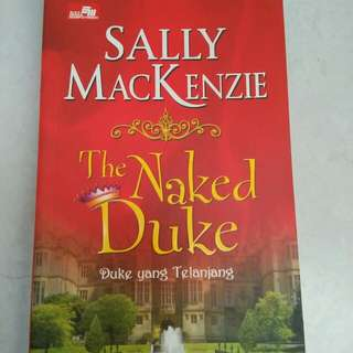 Buku novel Sally Mackenzie/ the naked duke