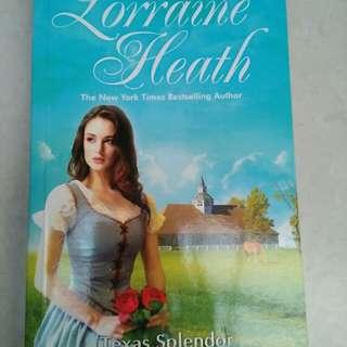 Buku novel Lorraine Heath