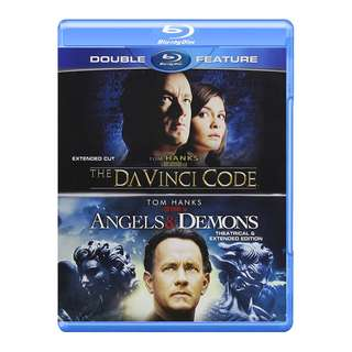 The Da Vinci Code Extended Cut Angels & Demons Extended Edition Blu-ray