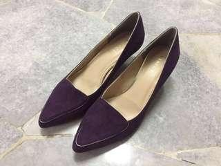 Marked down: Vincci purple heels