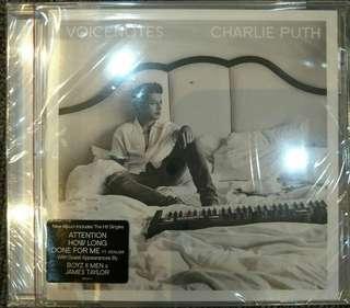 [Music Empire] Charlie Puth - Voicenotes CD Album