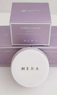 hera UV mist cushion sample size