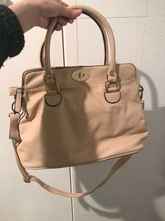 Brand new dark Cream Handbag with shoulder strap