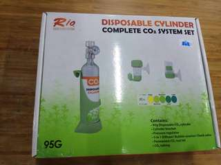 Rio Disposable Co2 system for sale.