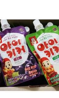 韓國正官庄幼童紅蔘果汁