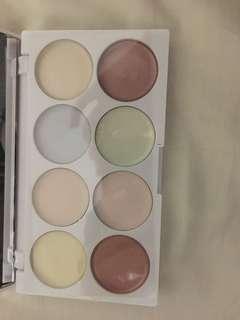 Cream highlighter palette