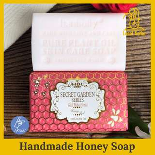 ⁂Honey Soap Scents ⁂ OliveOil. Handmade Shower Soaps Lightening skin. Moisturising (200g) 7oz