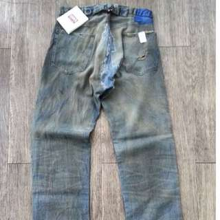 Levi's Vintage Clothing LVC SS 2004 1901 Denim Devotee