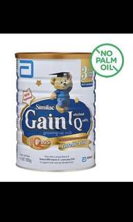 [Free Doorstep Delivery] Brand New and Sealed Similac Gain IQ Stage 3 1.8kg (Singapore Stocks)