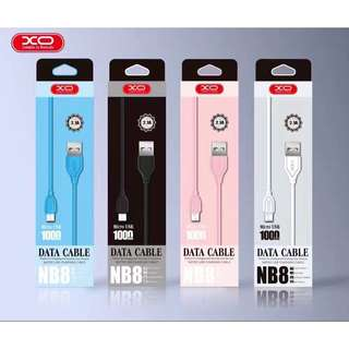 XO-NB8 Data Charging Cable for iOS and Android
