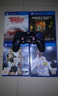 PS4 Controller & PS4 Games