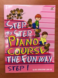Step by Step piano course the fun way (Step 1)