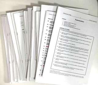 NJC H2 Physics Full set of notes