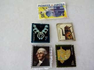USA Stamps 5V