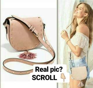 victoria secret studed slingbag