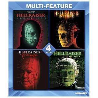 Hellraiser 4 Movie Collection BLu-ray