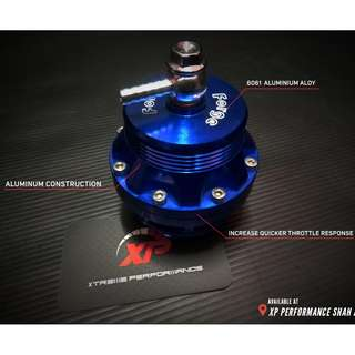 BLOW OFF VALVE FORGE 50MM BLUE 1:1