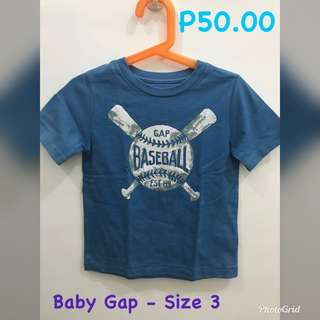 Assorted Tops/Shorts for Kids (Boys only)