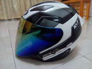 kyt double visor