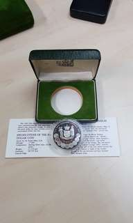 1983 New Zealand 50th Ann of Coinage Silver Proof Coin