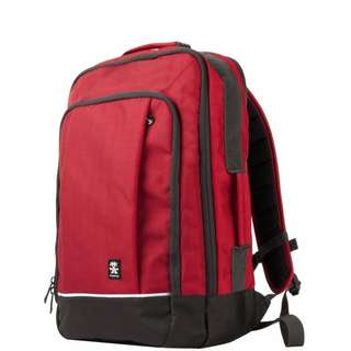 *** Extra Promo 6% for RED*** Crumpler Proper Roady XL Backpack Black Red Navy