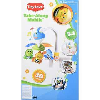 Tiny Love Take Along Cot Mobile (Animal Friends)