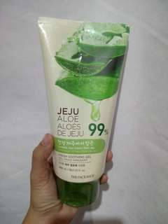 AUTHENTIC The Faceshop Jeju Aloe Gel