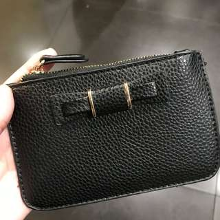 Miniso Black Leather Wallet