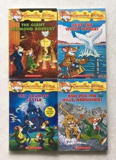 Geronimo Stilton Story Books Collection