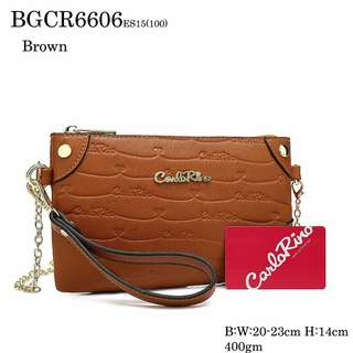 CR WRISTLET POUCH/ SLING BAG