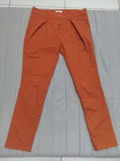 🚚 橘色長褲
