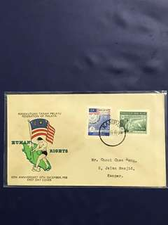 Malaya FDC As In Pictures