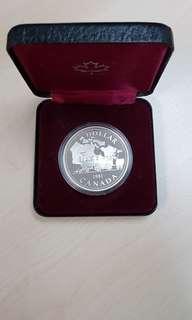 1981 Canda Train Silver Proof Coin