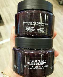 Body Shop Blueberry Body Scrub