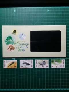 1997 香港候鳥 郵票套摺