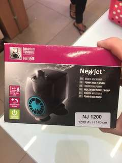 New jet water pump 1200l/h