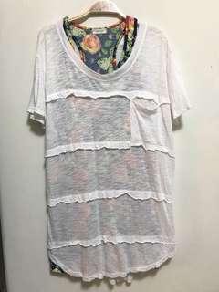 🚚 背心+白罩衫 #五十元好物