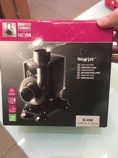 New jet water pump 4500l/h