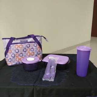 Tupperware 1 set ungu