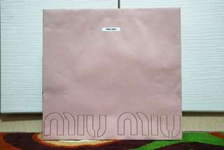 MIU MIU Authentic Paper Bag