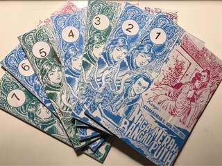 Kho Ping Hoo Naga Merah Bangau Putih 1-7 tamat (cetakan baru 2015)