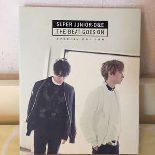 Super Junior D&E The Beat Goes On B版 淨專