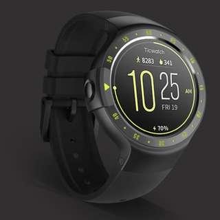 Ticwatch S knight. sport smartwatch most comfortable 2018 best smartwatch