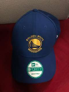 Golden State Warriors Blue Adjustable Cap from USA