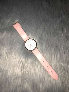 Hartley Pink & Rose Gold Watch