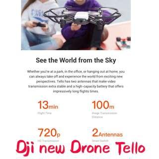 Dji New drone tello